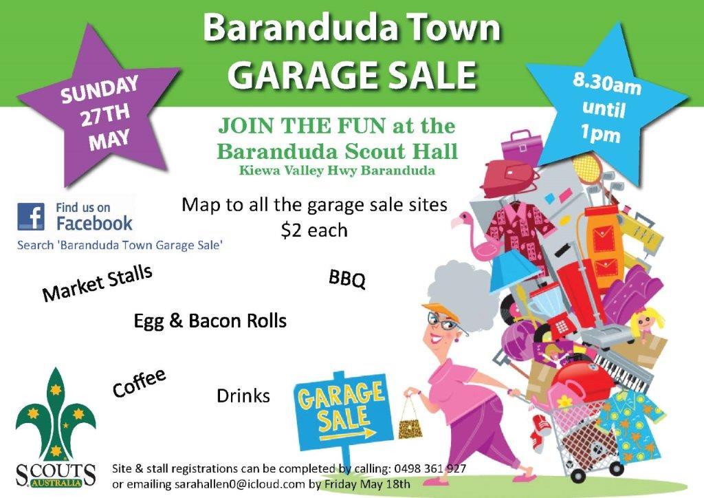 Baranduda Town Garage Sale Events On The Murray