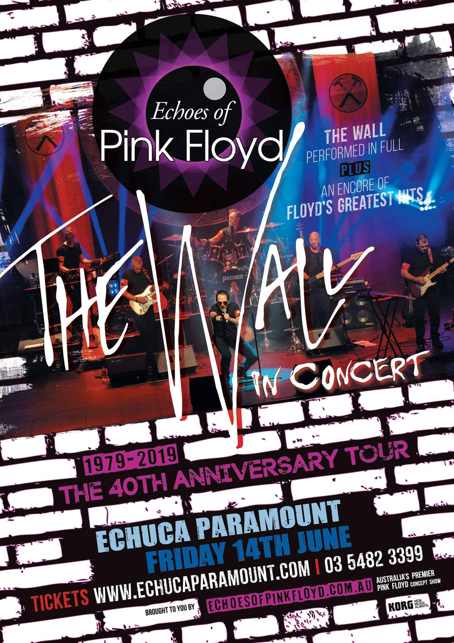 Echoes of Pink Floyd - Echuca – Events on the Murray